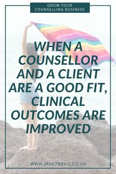 Attracting the right counselling client isn't just good for marketing your private practice, clients will get the best outcomes