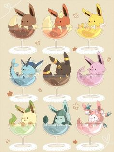 Eevee - Imgur Cute Animal Drawings, Kawaii Drawings, Cute Drawings, Cute Pokemon Pictures, Pokemon Images, Pokemon Comics, Pokemon Go, Evolution Pokemon, Fotos Do Pokemon