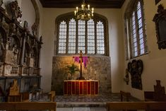 Chapel Royal of St. Peter ad Vincula, Tower of London (and final resting place of 2 of Henry VIII's wives, among other notables)