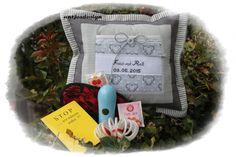 Hochzeitsgeschenk Geld  Name  -  Shades of grey von Antjes Design auf DaWanda.com
