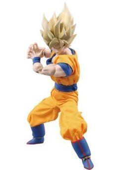 Real Action Heroes Dragon Ball Z Goku Super Saiyan (japan import) by Medicom Toy @ niftywarehouse.com