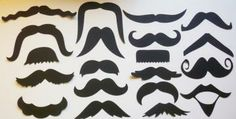 40 Mustache Moustache Cut Outs Photo Props Party Party Straws Photobooth Photo booth by itrhymeswithorange for $14.00