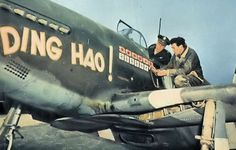 North American P-51B-5-NA, s/n 43-6315, DING HAO!, 356th Fighter Squadron 354th Fighter Group, pilot Lt Col. James H. Howard  at RAF Boxted, Essex, early 1944.