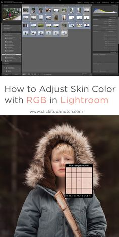 Adjust Skin Color with RGB in Lightroom This has RGB numbers and tells you how to correct skin tones in camera and in Light room. Must Read - Dslr Photography Tips, Photography Lessons, Photoshop Photography, Photography Tutorials, Digital Photography, Creative Photography, Light Room Photography, Inspiring Photography, Flash Photography