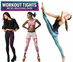 For all you #fashion and #fitness loving ladies, we have a feeling these workout tights will be at the top of your 'must-have' list!