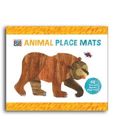 Take a look at this Animal Place Mats Set by The World of Eric Carle on #zulily today!