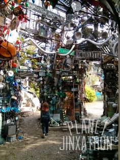 Austin Summer Fun: Cathedral of Junk