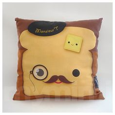 FREE SHIPPING Decorative Pillow Travel Size Retro Toy by mymimi - $19.59