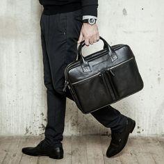 05198a2f96da Модный блог о мужских кожаных сумках: лучшие изображения (24) | Man ...