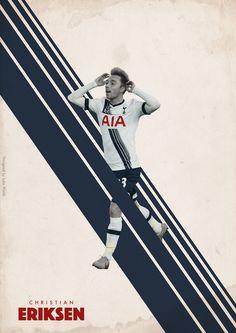 BPL Star Players 2015/16 on Behance - Christian Eriksen - Tottenham Hotspur