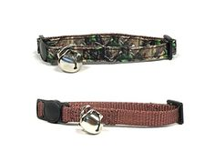 Camo Tree Cat Collar Set by Midlee *** More info could be found at the image url. (This is an affiliate link and I receive a commission for the sales)