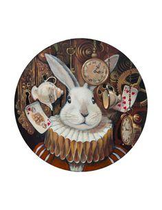 Vladimir Ovtcharov   -  White Rabbit VII
