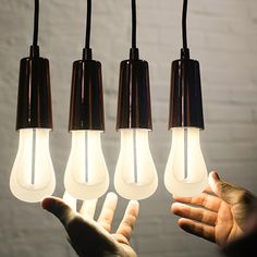 Plumen is a line of energy efficient lightbulbs that are meant to be seen, not hidden. They are beautiful designer lightbulbs that use 11 watts or less.