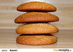 Medové sušenky I. recept - TopRecepty.cz Baked Potato, Sweet Potato, Cake Recipes, Sweets, Bread, Snacks, Cookies, Vegetables, Healthy
