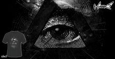 T-shirts - Design: The Eye - by: nicebleed