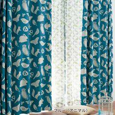 コーティング裏地付き遮光・遮熱・防音カーテン&UVカット・遮像カーテ4枚セット