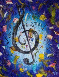 Musical Party Painting - Paul Bartoszek