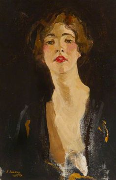 BBC - Your Paintings - Violet Keppel (1894–1970), Mrs Denys Robert Trefusis by John Lavery