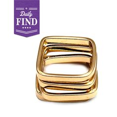 by Robyn Rhodes  Sofie Ring, Gold - Daily Find