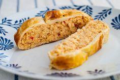 Muselina de merluza en hojaldre - Recetasderechupete.com