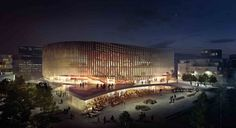 Copenhagen Arena Proposal / 3XN Architects