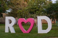 Letras gigantes para eventos especiales! Perfectos para la decoracion de  boda y xv años.  Letras Gigantes del Sureste   9993 81 89 96