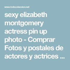 sexy elizabeth montgomery actress pin up photo - Comprar Fotos y postales de actores y actrices en todocoleccion - 55136266