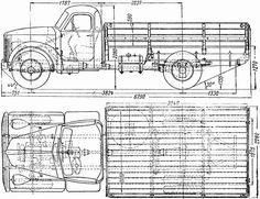 Free Truck Blueprint 355m id=775 - Free Blueprint Download