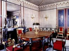 Grand Council Room at Malmaison. Percier and Fontaine