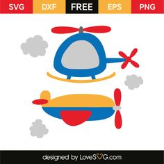 Helicopter and Plane Vinyl Craft Projects, Vinyl Crafts, Silhouette Cameo, Transportation Birthday, Cricut Fonts, Free Svg Cut Files, Svg Cuts, Preschool Crafts, Bears