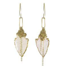 Nan+Fusco+Arrowhead+Earrings+by+Nan+Fusco+