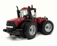 Ertl Collectibles 1:64 Case IH 450 Steiger Authentic Tractor by Ertl Collectibles. $32.80. Three point hitch raises and lowers. Opening cab door. Die cast construction. Dual die cast wheels with soft plastic tires. Opening hood to reveal the engine. From the Manufacturer                Highly detailed authentic replica of the CIH Steiger 450 4 wheel drive tractor Die cast construction Opening hood to reveal the engine.                                    Product Descriptio...
