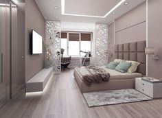 This is a Bedroom Interior Design Ideas. House is a private bedroom and is usually hidden from our guests. However, it is important to her, not only for comfort but also style. Much of our bedroom … Luxury Bedroom Design, Bedroom Furniture Design, Master Bedroom Design, Home Decor Bedroom, Home Interior Design, Bedroom Ideas, Bedroom Plants, Bedroom Inspiration, Master Suite