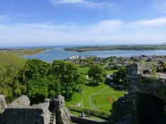 Gorgeous view from the top of the Dundrum castle in Northern Ireland.