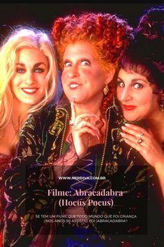 """Se tem um filme que todo mundo que foi criança nos anos 90 assistiu com a temática do Halloween, foi """"Abracadabra"""" e é minha indicação pro final de semana – logo logo ele tá aí no Disney +. Two Movies, Family Movies, Classic Movies, Movie Tv, Hocus Pocus 2, Bette Midler, Disney Plus, Latest Movies, Comebacks"""