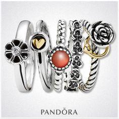 Pandora Rings Exprimez votre personnalité en combinant plusieurs de nos bagues Pandora. Jouez, associez, matières, couleurs et formes. Certaines de nos bagues sont assorties à un charm de votre bracelet. Les combinaisons sont illimitées . Mélangez et associez autant que vous le voulez, soyez vous même...soyez unique. http://www.bijoux-et-charms.fr/42-bagues-pandora #pandora