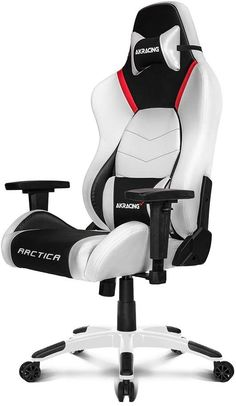 - AKRacing Masters Series Premium Gaming Chair with High Backrest, Recliner, Swivel, Tilt, 4D Armrests, Rocker and Seat Height Adjustment Mechanisms with 5/10 warranty - Arctica ز -Only 2 left in stock . -price: $529.00