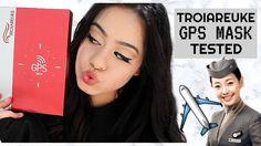 """FLIGHT ATTENDANT"" SKINCARE? | TROIAREUKE GPS MASK TESTED!"