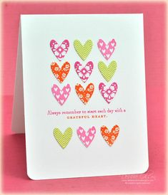 Happy Hearts Stamp Set: Papertreyink