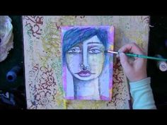 ▶ a speed painting of a journal cover: My Lipstick on Your Lips - YouTube