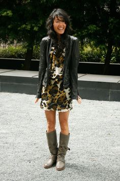 Image result for outfit ideas for brown moto boots