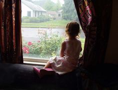 looking through the window | looking through the window and seeing beautiful sight of greenery is ...