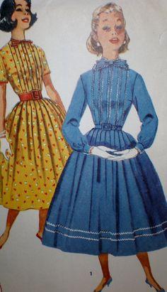 Vintage anni cinquanta semplicità 2176 di VINTAGEShopsDelight
