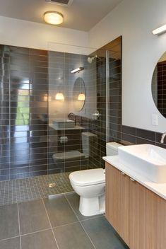 27 walk in shower tile ideas that will inspire you home remodeling walk in shower design walk in shower designs for handicap Walk In Bathroom Showers, Small Bathroom With Shower, Bathroom Layout, Modern Bathroom Design, Walk In Shower, Bathroom Interior Design, Shower Bathroom, Bathroom Designs, Small Walkin Shower