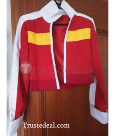 Voltron Legendary Defender Keith Red Jacket Cosplay Costume