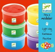 Djeco 6 light clay boxes Multicoloured `One size Details : 6 pot(s) of modelling dough 14 cm x 12 cm x 7 cm http://www.comparestoreprices.co.uk/january-2017-7/djeco-6-light-clay-boxes-multicoloured-one-size.asp