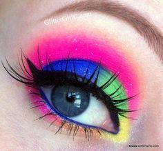 Neon Eyes - GlitterGirlC
