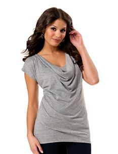 Another great nursing shirt- and forgiving over postpartum tummy
