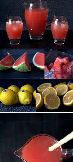 Watermelon Lemonade | Smitten Kitchen omit sugar/syrup. May add ACV?