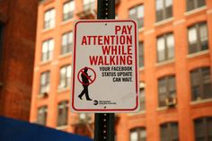 Pay attention while walking... (photo by Jaime Rojo) #Facebook #LOL